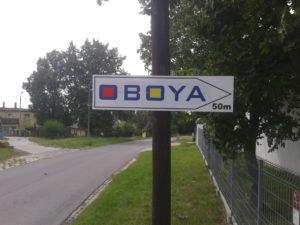 Kompleksowa reklama dla firmy Oboya