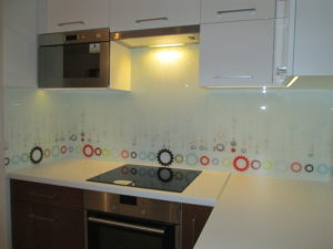 Panele szklane z grafiką Rybnik